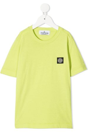 Stone Island Logo-patch T-shirt