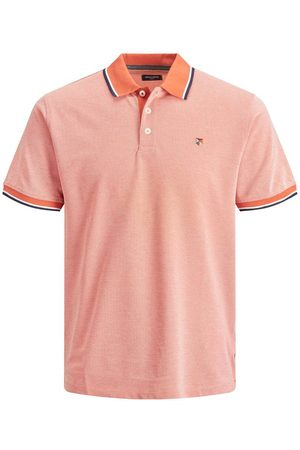 Jack & Jones Piqué Polo Heren Oranje