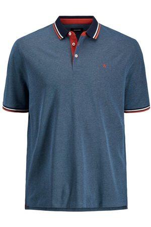 Jack & Jones Heren Poloshirts - Klassiek Plus Size Polo Heren Blauw