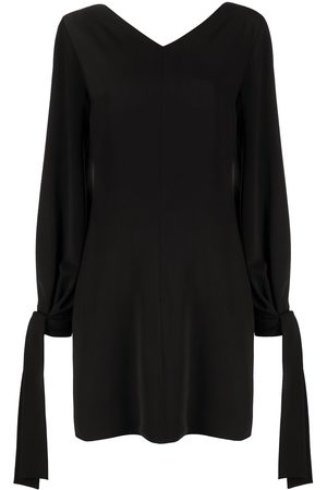 MSGM Tie-cuff shift dress