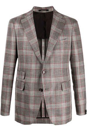 TAGLIATORE Check print jacket