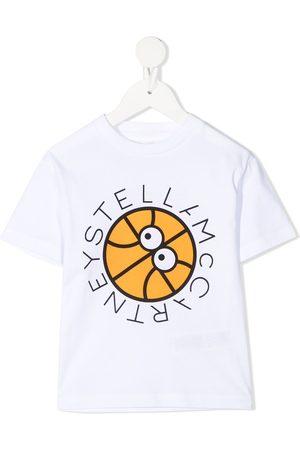 Stella McCartney Basketball print T-shirt