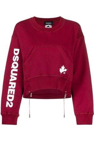 Dsquared2 D2 Leaf Active crew neck sweatshirt