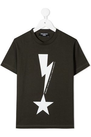 Neil Barrett Graphic-print cotton T-Shirt