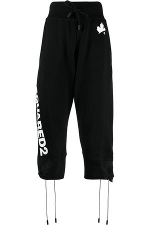 Dsquared2 Logo-print cropped track pants