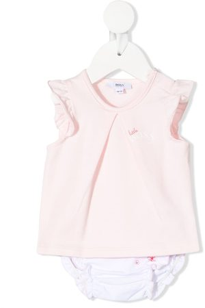 HUGO BOSS T-shirt with floral print bloomers