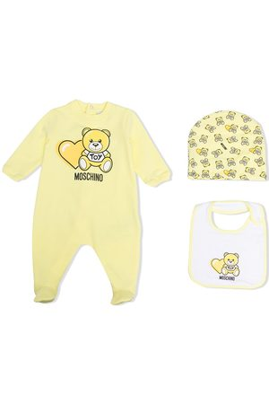 Moschino Bear-motif pajamas set