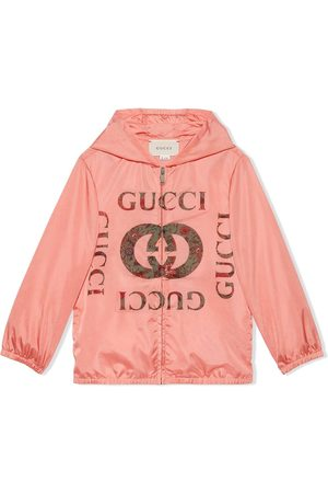 Gucci Flora-logo hooded jacket