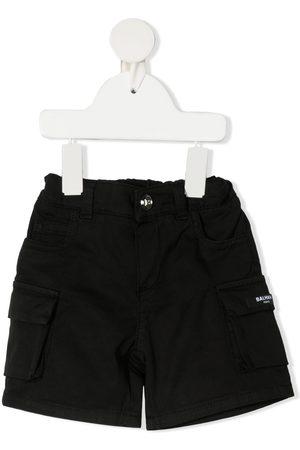 Balmain Cargo pocket denim shorts