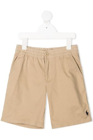 Ralph Lauren Polo Pony-embroidered mid-rise shorts