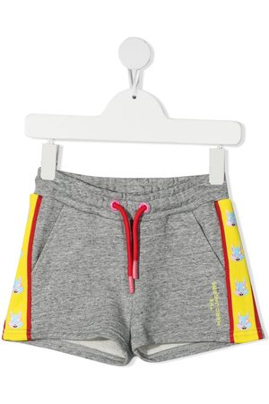 The Marc Jacobs Mascot motif print track shorts