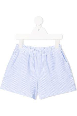 DOUUOD KIDS Stripe-print cotton shorts