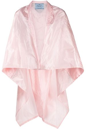 Prada Packable silk cape