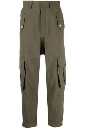 Balmain Cropped cargo trousers