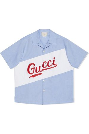 Gucci Logo-embroidered shirt