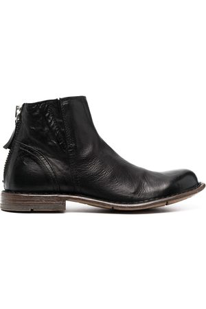 Moma Round toe ankle boots
