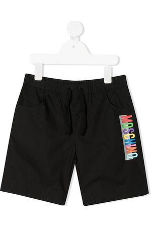 Moschino Logo track shorts
