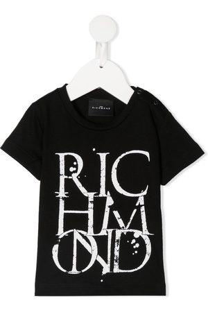 John Richmond Junior Logo crew-neck T-shirt