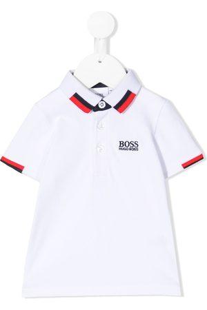 HUGO BOSS Logo-embroidered polo shirt