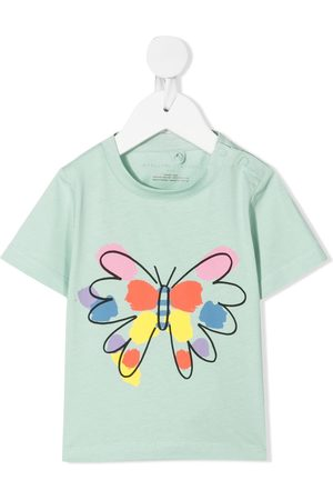 Stella McCartney Butterfly-print T-shirt