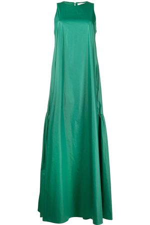 PESERICO SIGN Sleeveless draped maxi dress