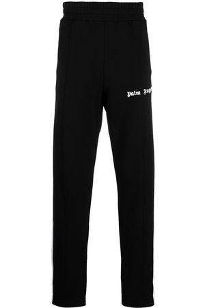 Palm Angels FLEECE TRACK PANTS WHITE