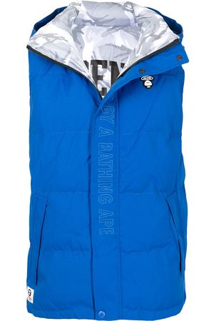 AAPE BY A BATHING APE Heren Bodywarmers - Embroidered logo padded gilet