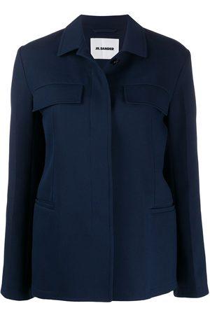 Jil Sander Tailored concealed-fastening overshirt