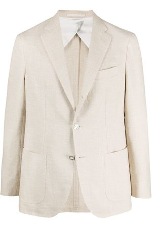 BARBA Notched-lapels single-breasted blazer