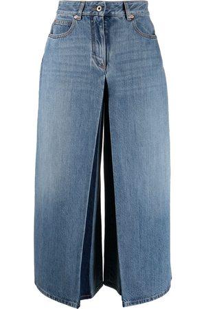 VALENTINO Denim skirt trousers