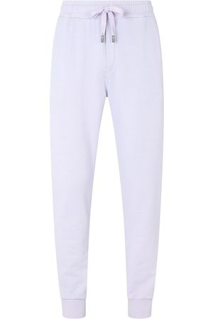 Dolce & Gabbana Tapered-leg cotton track pants