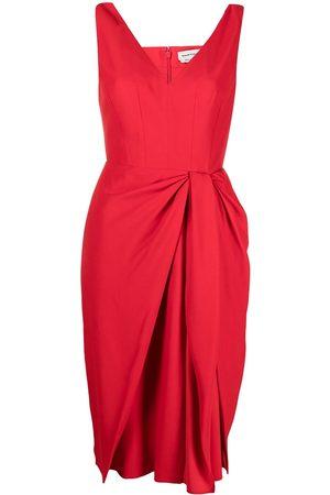 Alexander McQueen Knot-detail draped dress