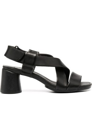 Camper Upright criss-cross leather sandals