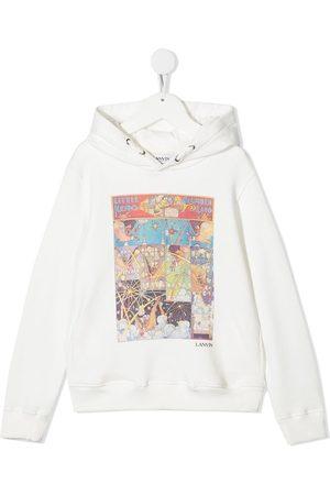 Lanvin Cartoon-print hooded sweatshirt