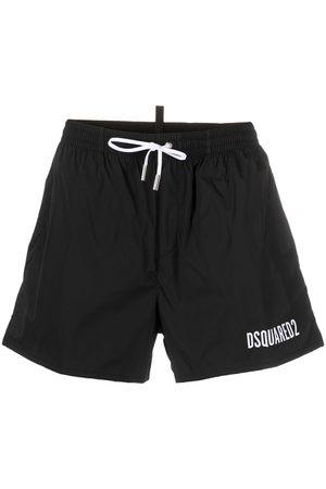Dsquared2 Heren Shorts - Logo-print swim shorts