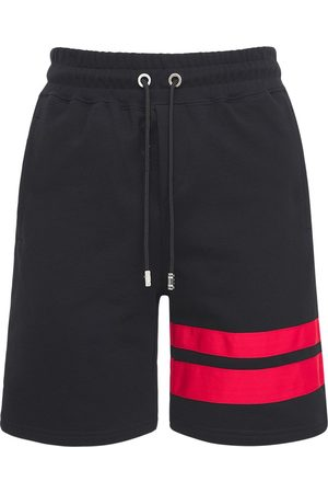 GCDS Logo Cotton Shorts