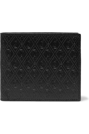 Saint Laurent Heren Portemonnees - East/West Logo-Debossed Leather Billfold Wallet