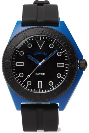 BAMFORD LONDON Heren Horloges - Mayfair Sport Limited Edition Polymer and Rubber Watch