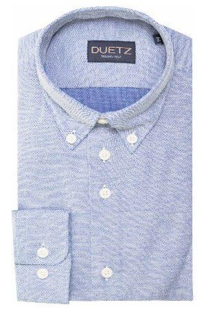 Duetz1857 Heren Overhemden - Duetz 1857 casual overhemd brushed