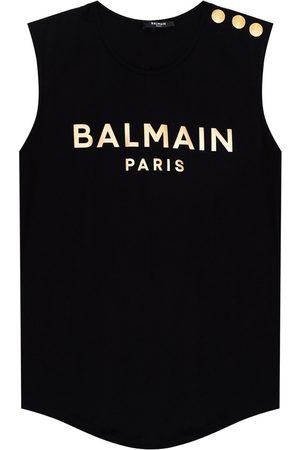 Balmain Dames Tanktops - Logo-printed tank top