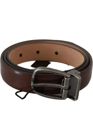 Dolce & Gabbana Heren Riemen - Oval Buckle Belt
