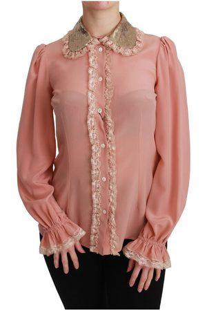 Dolce & Gabbana Sequin Lace Blouse