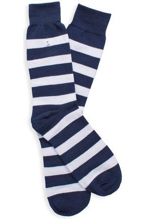 Alfredo Gonzales Stripes blue & white