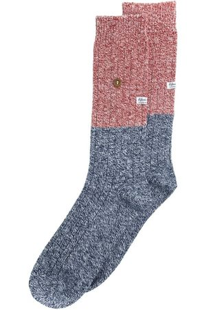 Alfredo Gonzales Twisted wool two tone navy / red