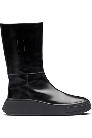 Prada Heren Instappers - Slip-on leather boots