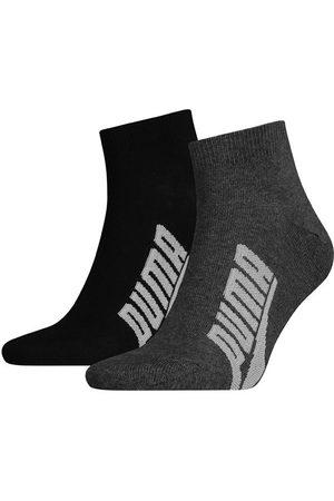 Puma Ondergoed - Lifestyle quarter 2-pack zwart & grijs