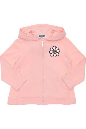 Moschino Toy Print Cotton Sweatshirt Hoodie