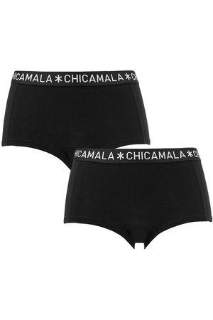 Chicamala Dames Shorts - Boxershorts dames basic 2-pack
