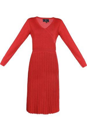 Faina Gebreide jurk