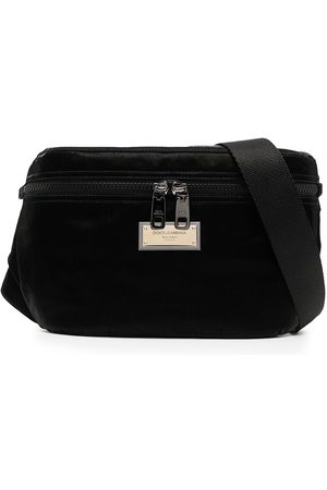 Dolce & Gabbana Heren Riemen - Logo-plaque belt bag